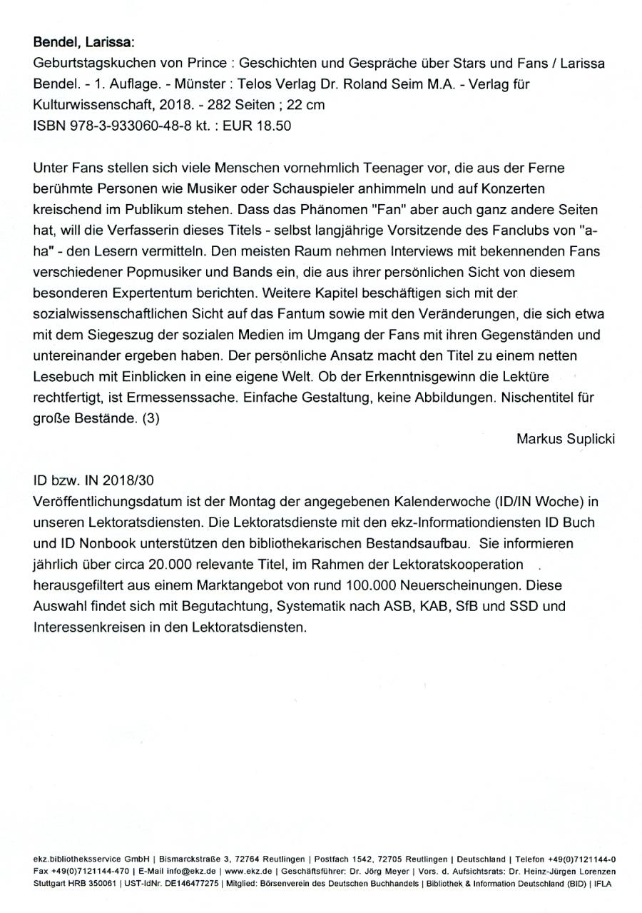 Telos Verlag Dr. Roland Seim M.A. - Verlag für Kulturwissenschaft ...